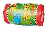 Simba 104010015 - ABC Krabbelrolle, mit schöner Bedruckung, 2 Fenster und 2 Rasselbälle, ab 12 Monaten