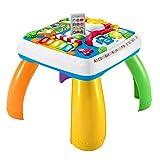 Fisher-Price HBB67- Lernspaß Spieltisch, Lernspielzeug mit Lichtern, Sätzen und Liedern, mitwachsenden Spielstufen, Baby Spielzeug ab 6 Monaten, deutschsprachig