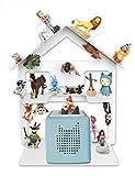 Regal für Toniebox für über 42 Tonies, Tonie Regal für Kinder Sammelset Haus - Tonie Toniebox Zubehör - Geeignet für über 42 Tonies - Magnetisch beliebig fixierbar
