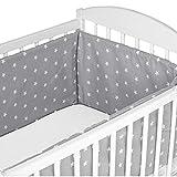 Bettumrandung Nestchen Babybett umrandungen - babybettumrandung Bettnestchen für Kinderbett