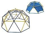 Klettergerüst Dome Climber Outdoor Kinder Klettergestell Metall mit Kuppel-Zelt