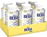 Nestlé BEBA PRE, Säuglingsmilchnahrung von Geburt an, trinkfertige Babymilch im Fläschchen, leicht verträgliche Babynahrung, 6er Pack (6 x 200 ml)
