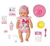 Zapf Creation 827956 BABY born Magic Girl 43 cm - neu mit magischem Schnuller und 10 lebensechten Funktionen