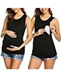 UNibelle Damen Stillshirt still Umstand top Shirt umstandstop Baumwolle 1 pcs