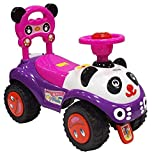 Baby Rutscher Super Panda Kinder Rutschauto Rutschfahrzeug pink rosa