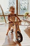 Laufrad aus Holz, 1,5 bis 4 Jahre, mit Leinöl bestrichen, 100% Öko, Natur pur, Kletterling Laufling