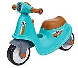 BIG - Classic Sport Scooter Kinder-Laufrad in türkis, echte Rollersounds, robust, hohe Kippsicherheit und formstabil, Räder aus Premium-Softmaterial, für Kinder ab 1,5 Jahren