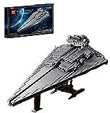 XXH Technic Baustein Victory Star Destroyer Kit Raumschiff Serie, Star Wars Empire Sets, 891 Klemmbausteine Kompatibel mit Lego