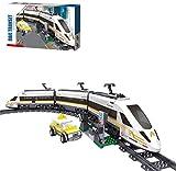 Eisenbahn-Set, Bauset, 431 Steine - Kompatibel mit Lego (Ql0308)(Ql0307)