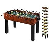 10 in 1 Multifunktionstisch für die ganze Familie - Multigame Spieltisch Multifunktion für Kinder & Erwachsene Multitisch Multifunktionsspieltisch
