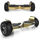 Windway 8,5 Zoll Hoverboard 700 W All Terrain Hummer Self Balancing Scooter mit leistungsstarker LED-Motorbeleuchtung Bluetooth für Erwachsene und Kinder Elektroroller