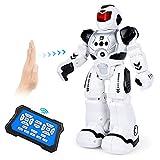 ARANEE Roboter Kinder Spielzeug, Intelligente Roboter Kinder Spielzeug mit Infrarot-Controller-Spielzeug, Tanzen, Singen, LED-Augen, Gestenerkennung Kinder (Schwarz)
