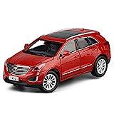 MAQINA Für Cadillac XT5 1:32 Metalllegierung Druckguss Automodell Mit Sound Und Licht Geschenken Kinderspielzeugauto