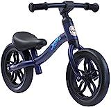 BIKESTAR Federleichtes (3 KG!) Kinderlaufrad Lauflernrad Kinderrad für Jungen und Mädchen ab 2 - 3 Jahre   Mitwachsendes 10 Zoll Kinder Laufrad Lightrunner   Dunkelblau   Risikofrei Testen