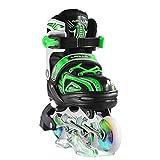 Apollo Super Blades, größenverstellbare Inline Skates für Damen und Kinder, Inliner für Erwachsene, Mädchen und Jungen in den Größen 31–42, LED Inline-Skates