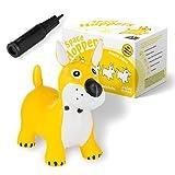 all Kids United® Hüpftier Sprungpferd - Hüpfpferd Sprungtier + Pumpe (Hund)