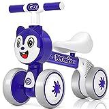 Peradix Kinder Laufrad, Laufrad ab 1 Jahr Unter zu 30 kg ohne Pedale Lauflernrad Spielzeug Ohne Pedale,Lenkrad Verstellbar Kinder Dreirad für 10-36 Monate