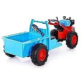 Tastak Kinder Elektroauto Vier Räder Kann Menschen Auto Walking Traktor Doppelantrieb Sitzen Selbstfahrender Spielzeug Kinderwagen Walker Traktor Mit Ladeeimer Für Kinder