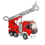 JINFENFG Statisches Baufahrzeug Simulationsmodell Feuerwehrauto 1:20 Legierung Engineering Vehicle Kinderlieblingsspielzeugautotür kann geöffnet Werden Beste Sammlung für Automodellliebhaber
