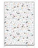 Koru Kids® Spielmatte Baby Kinder – schadstofffrei – Krabbelmatte – faltbar und wasserabweisend – Babymatte – 140 x 200 x 1,1 cm – hergestellt in Südkorea - Modell Mosaik