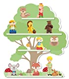 Tonies Regal Motiv Baum/geeignet für circa 30 Tonie Figuren / 46 x 40 cm/magnetisch