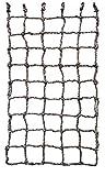 Aoneky Kinder Kletternetz - Krabbelnetzwand Schutznetz für Freiensport-Entwicklungstraining, Garten,Outdoor Indoordekoration 0,6 x 1,8/1 x 1,5/1 x 2 M (1 x 2M)