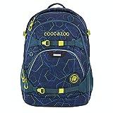 coocazoo Schulrucksack ScaleRale Laserbeam Blue blau, ergonomischer Tornister, höhenverstellbar mit Brustgurt und Hüftgurt für Jungen ab der 5. Klasse, 30 Liter