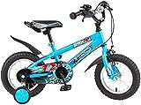 Xiaoyue Fahrräder Kinder-Fahrrad-Baby-Fahrrad-Kinder-Indoor Tricycle Außen Übung Kinder Tricycle 14/16 Inch Jungen und Mädchen Fahrrad-Park Freizeit Kinder-Fahrrad (Farbe: Blau, Größe: 14 Zoll) lalay
