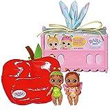 Zapf Creation 904664 BABY born Surprise Mini Babies 1 - kleine Mini-Puppen inkl. Kokon, Bett, Geburtszertifikat, zum Sammeln und Tauschen, Charakter nicht frei wählbar, 2 oder 3 Püppchen.