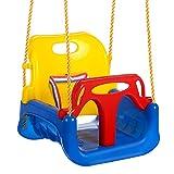 ANCHEER 3-in-1 Babyschaukel Kinderschaukel für Baby und Kinder abnehmbare Freien Schaukelsitz