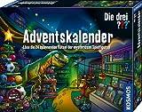 Kosmos 632182 Die drei Adventskalender 2020 Löse die 24 spannenden Rätsel der mysteriösen Spielfiguren, Spielzeug-Adventskalender für Kinder ab 8 Jahre, Krimi Geschichte bis Weihnachten