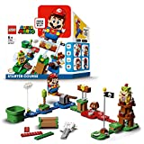 LEGO 71360 Super Mario Abenteuer mit Mario – Starterset, interaktive Figur und Bauspiel