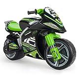 INJUSA - Laufrad Kawasaki Winner XL Nicht-Elektrisch, mit offizieller empfohlener Markenlizenz für Kinder + 3 Jahre mit breiten Rädern und Tragegriff