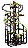 fischertechnik 544619 Kugelbahn Dynamic XXL mit einer Streckenlänge von 5,6m - 3 Modelle - Komplettset inkl. Motor, Rainbow-LED, Looping, Stop & Go, Wechselweiche für grenzenlosen Spielspaß