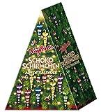 Küfferle Adventkalender Schokoschirmchen Christbaum, 324 g