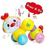TINOTEEN Baby Toys, Kleinkind Musikalisches Krabbeln Raupenspielzeug für Babys Kleinkinder 6 9 12 18 Monate