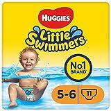 Huggies Little Swimmers Einweg-Schwimmwindeln, Größe 5 – 6 – 33 Hose Total