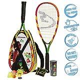 Speedminton S600 Set, Gr&uumln/Gelb/rosa, One Size