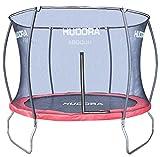 HUDORA Fantastic Trampolin 300 cm - Hochwertiges und sicheres Garten-Trampolin mit Sicherheitsnetz für die ganze Familie, Mehrkarton-Variante