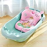 DSPKOhG Faltbare Bath Cushion Benutzt für 50 Litern Volumen von Babywanne   inkl. Badewanneneinsatz Baby   ergonomisch & kompakt   stabiles Spandex   platzsparend   Zufriedenheitsgarantie (PK)