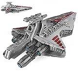 XXH Technik Republic Attack Cruiser Bausteine, 6685 Teile Republic Kit, Bausteine MOC Klemmbausteine Set, Kompatibel mit Lego (Mold King 21005)
