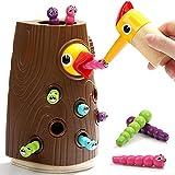 Nene Toys Füttern das Baby Küken - Lernspielzeug für Jungen und Mädchen 2 3 4 Jahre Alt - Magnetisches Kinderspiel zur Kognitiven und Emotionale Entwicklung von Fähigkeiten für Babys Vorschülern