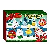 MoneRffi Heilsteine Adventskalender 2021 Edelsteine, Kristall Weihnachtskalender Kinder, Steine und Fossilien Kit, 24 Edelsteine & Kristalle Adventskalender, Weihnachts-Countdown-Kalender(B)