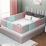 Rausfallschutz Bett Schutz vor Stürzen Kinderbett rausfallschutz Absturzsicherung Rausfallschutz Kostenlose Kombination Bett Scheint Baby-Bett-Schienen-Schutz for