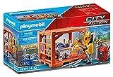 PLAYMOBIL City Action 70774 Containerfertigung, ab 4 Jahren