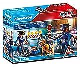 PLAYMOBIL City Action 6878 Polizei-Straßensperre, Ab 5 Jahren