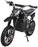 Actionbikes Motors Mini Kinder Crossbike Viper 1000 Watt - 36 Volt - Wave Scheibenbremsen - 3 Geschwindigkeitsstufen - Pocket Bike - Motorrad - Motocross - Dirtbike - Enduro (Viper 1000 Watt Schwarz)