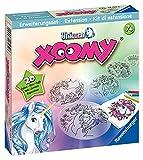 Ravensburger 18134 Xoomy Erweiterungsset Unicorn 18134-Zauberhafte Einhörner Lernen, Kreatives Zeichnen und Malen für Kinder ab 7 Jahren, White