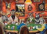 (Tierwetten) Klassische Puzzles 1000 Teile für Erwachsene Impossible Puzzle Lernspiele Puzzle farbenfrohes Legespiel Geschicklichkeitsspiel für Die Ganze Familie Puzzlespiel