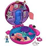 Polly Pocket FRY38 - World Flamingo Schwimmring Schatulle Puppen Spielset, zum Sammeln, Mädchen Spielzeug ab 4 Jahren [Exklusiv bei Amazon]